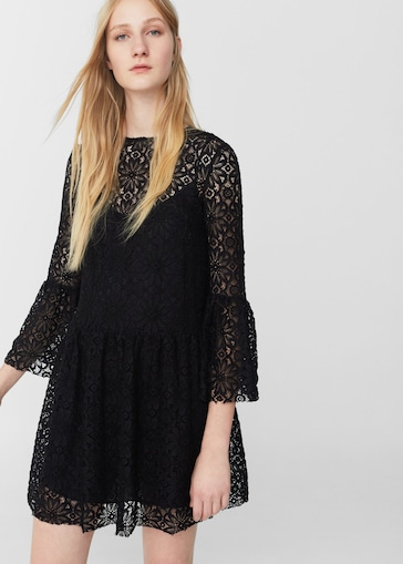 Vestidos de fiesta encaje negros