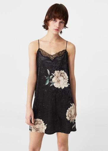vestidos de fiesta estilo lencero