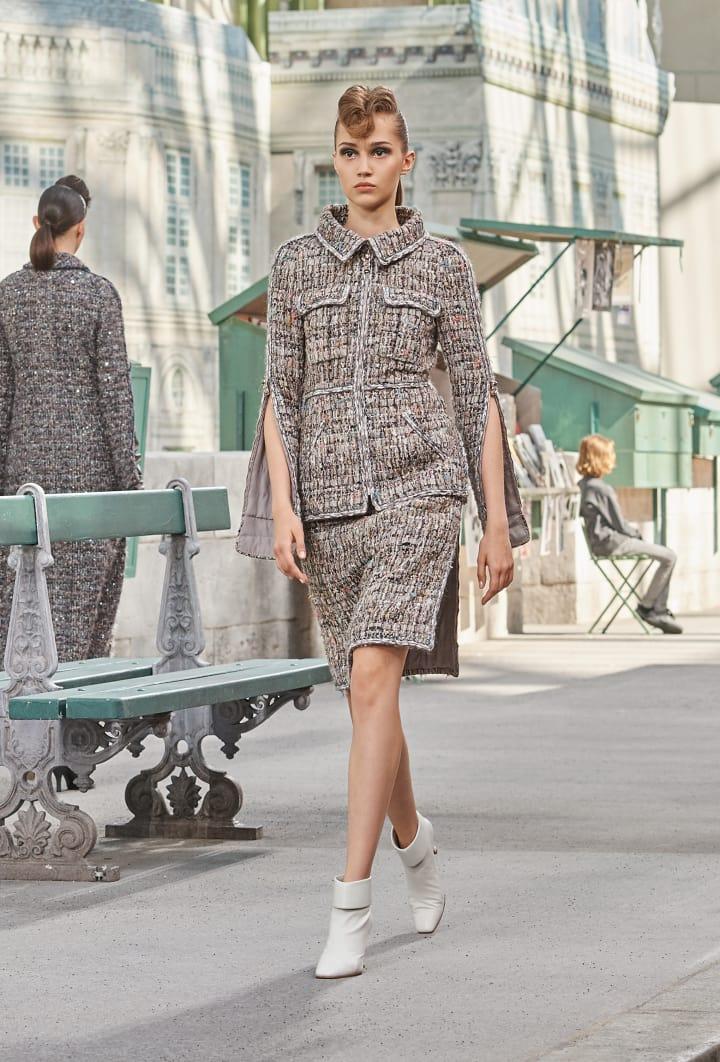 Colección Chanel Otoño Invierno 2018-2019 - trajes chaqueta