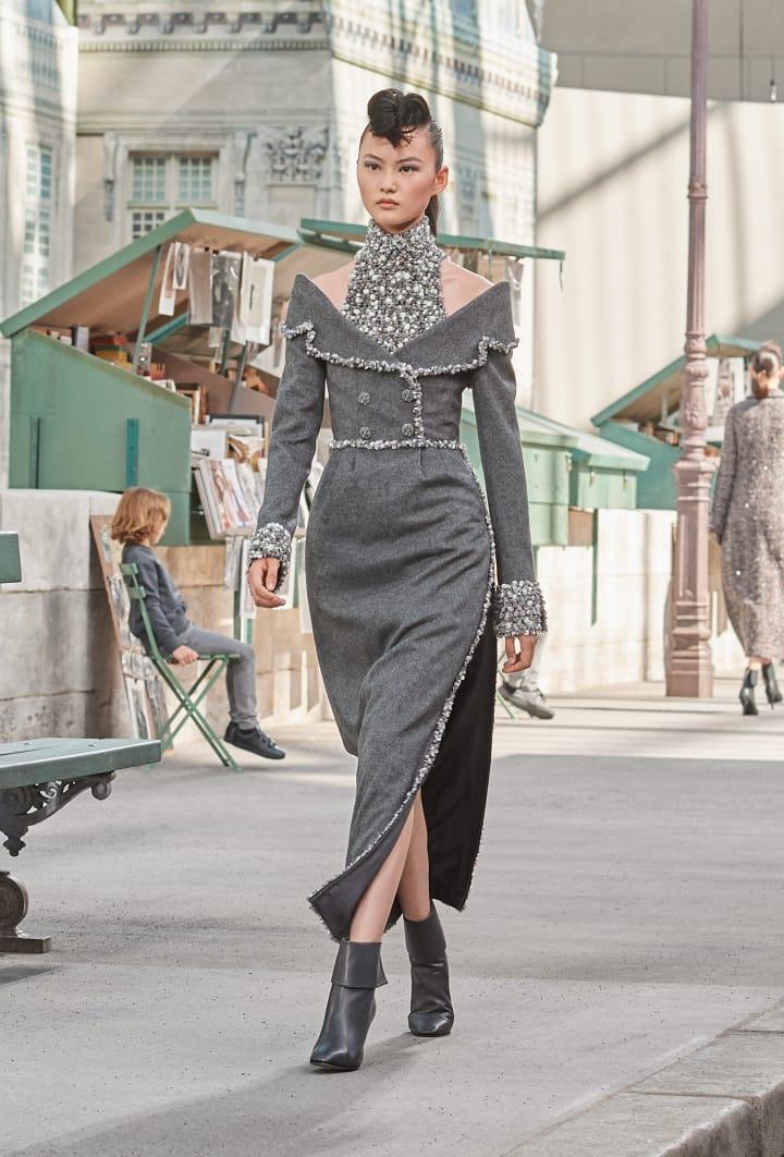 Colección Chanel Otoño Invierno 2018-2019 - vestidos chanel