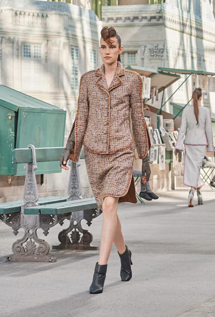 Colección Chanel Otoño Invierno 2018-2019 -trajes chaqueta alta costura