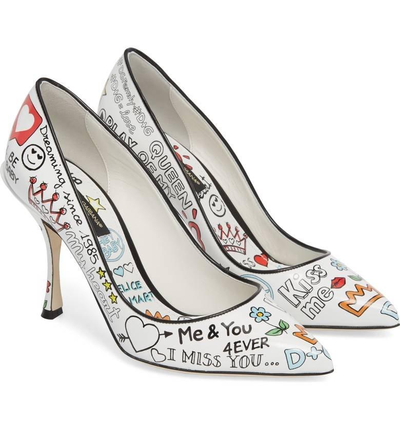 salones con prints - Salones y sandalias de Dolce & Gabbana