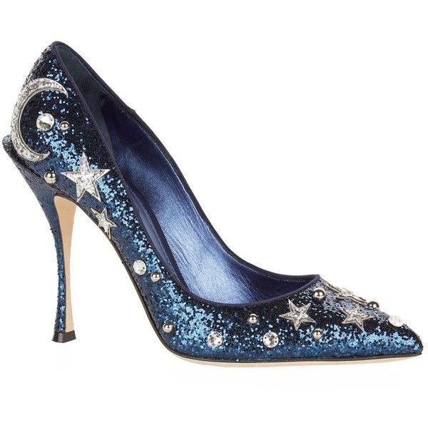 Salones y sandalias de Dolce & Gabbana - salones efecto brillo