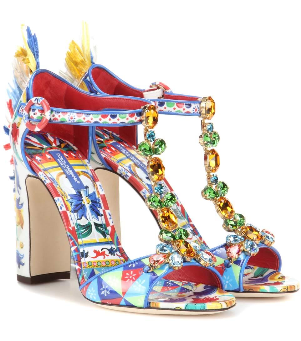 sandalias multicolores - Salones y sandalias de Dolce & Gabbana