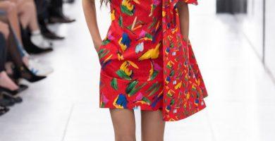 Primavera-verano 2019 Louis Vuitton - vestidos flores